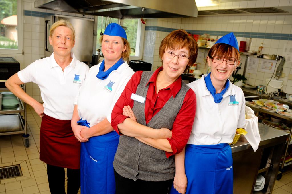 Das Küchenteam sorgt für die leckeren Speisen in unserem Altenheim in Osterode und Eisdorf.